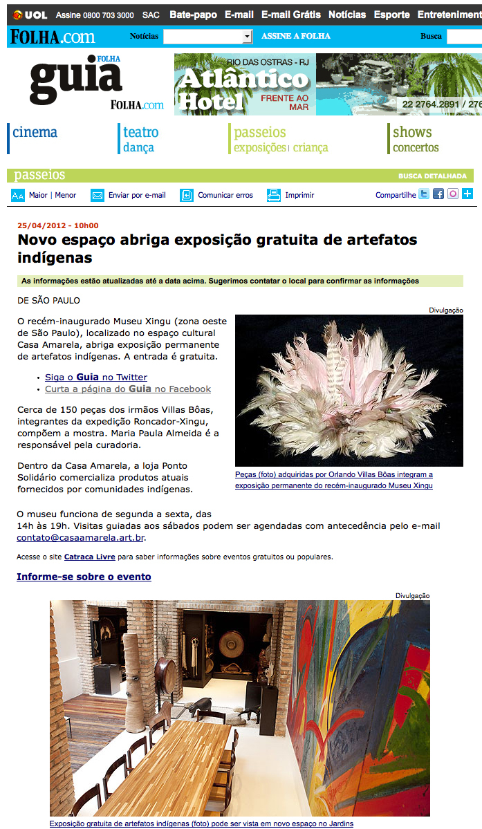 Clipping Museu Xingu_Abril2012_Pagina_01